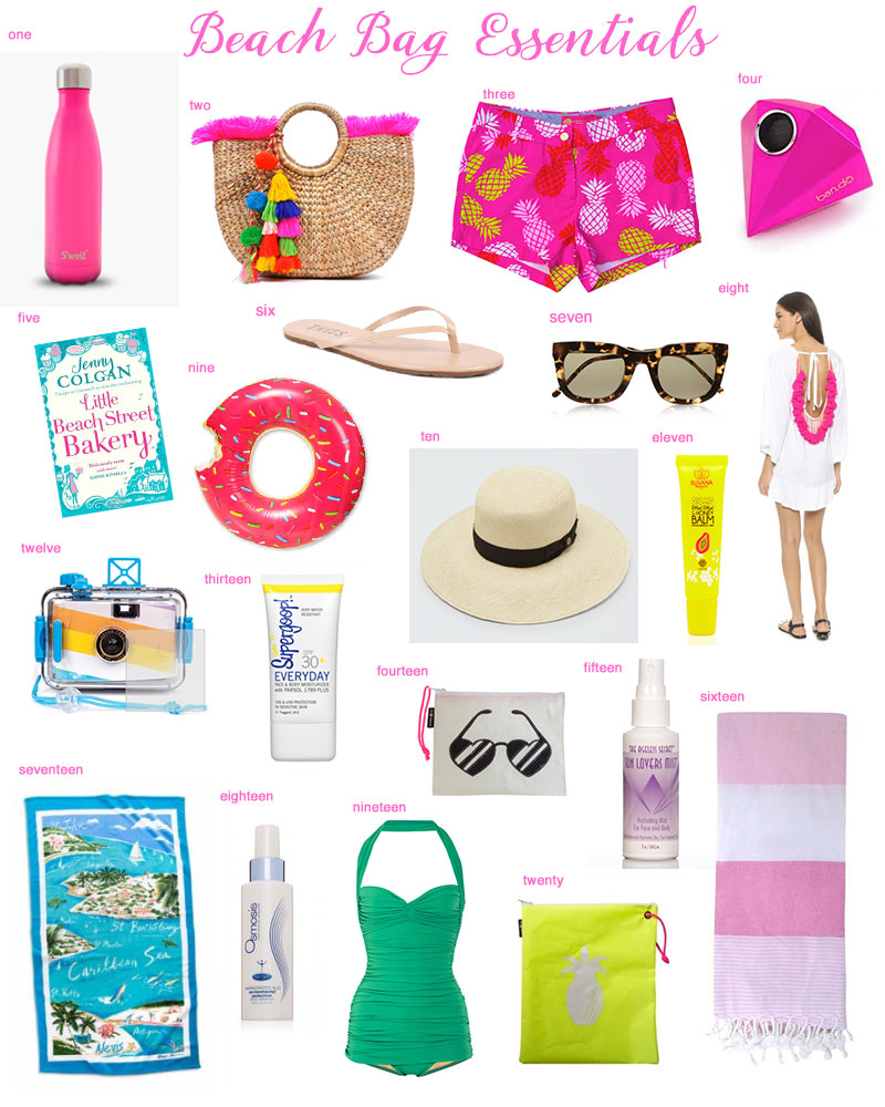 20 Beach Essentials Marla Young