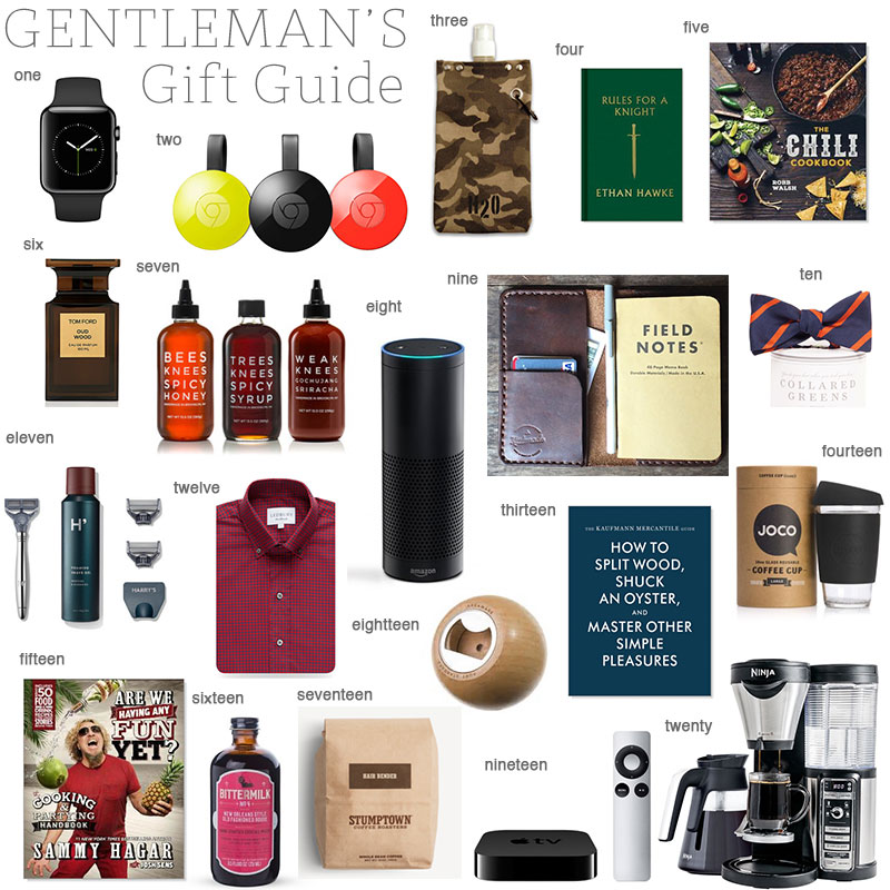 Gift Guide for the Gentleman
