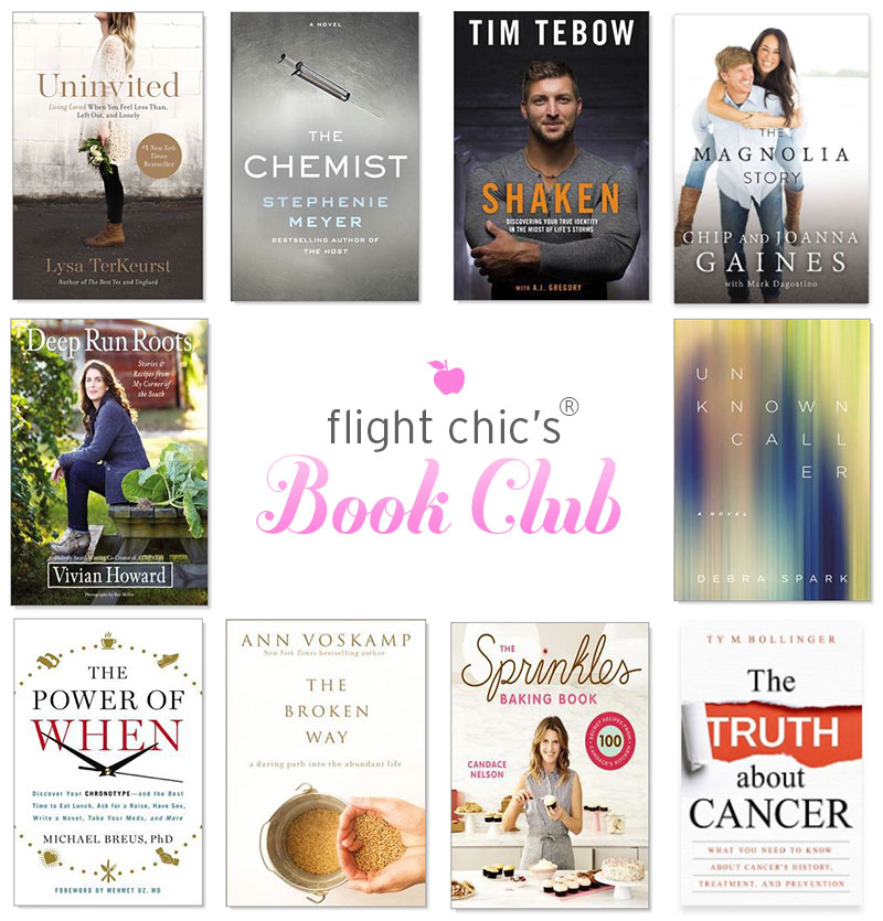 Fall Book Club 2016